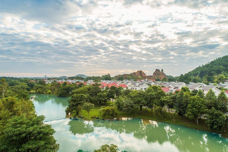 Mẫu biệt thự Tropical Villas – Khu đô thị Xanh Villas mở bán